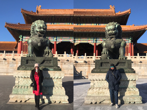 Route15:Tian'anmen Square+Foebidden City+Jingshan Park Half Day Walking Tour